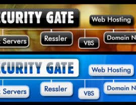 #54 para Banner Ad Design for Digital Security Gate por shakimirza