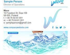 nº 13 pour Create a beautiful HTML email signature par fionalingweayang