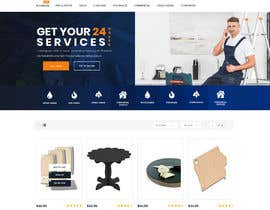 #114 for DESIGN CUSTOM WEBSITE LAYOUT AND CREATE CSS AND HTML TEMPLATE FOR IT af davoogemy
