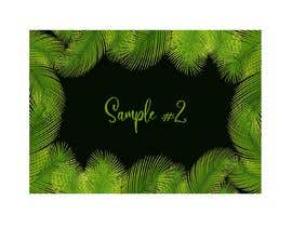 Nro 5 kilpailuun Design a palm tree/banana leaf pattern I can use for my product käyttäjältä imagencreativajp