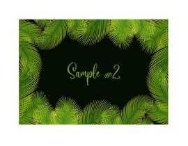#5 para Design a palm tree/banana leaf pattern I can use for my product por imagencreativajp