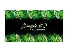 Nro 10 kilpailuun Design a palm tree/banana leaf pattern I can use for my product käyttäjältä imagencreativajp
