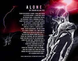 """Nro 124 kilpailuun Edgar Allan Poe's """"Alone"""" käyttäjältä NamalPriyakantha"""