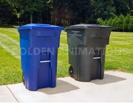 Nro 114 kilpailuun Trash Can GIF käyttäjältä GoldenAnimations