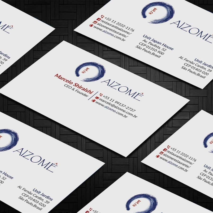 Kilpailutyö #225 kilpailussa Restaurant Business Card