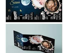 nº 24 pour Birth Announcement Card par scraaz70