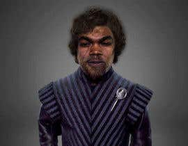 #11 para My face imposed on Tyrion Lannister's body keeping his hair but black & scare on face. por hrshawon1