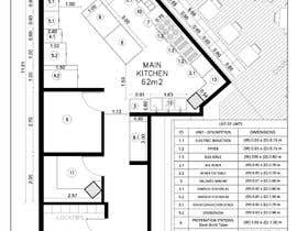 #16 for Kitchen and deli floor plan by Ortimi2020