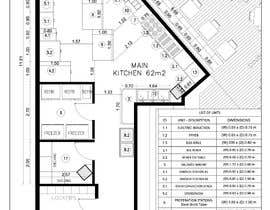 #17 for Kitchen and deli floor plan by Ortimi2020
