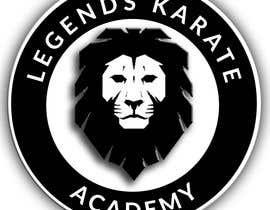 "johnbastiandingl tarafından A badge/logo for me karate club ""Legends Karate Academy"" as well as some different types of logo representation - colours black and white - some lion head examples attached as examples only - also a mock up of a landing page of a website - 03/03/2019 19:1 için no 4"
