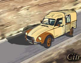 nº 6 pour Illustration avec Citroën Acadiane par momensalehm
