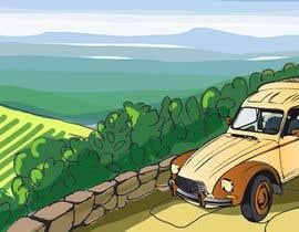 nº 14 pour Illustration avec Citroën Acadiane par NatalieNikkol