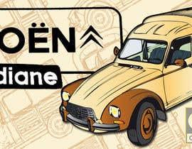 nº 20 pour Illustration avec Citroën Acadiane par NatalieNikkol