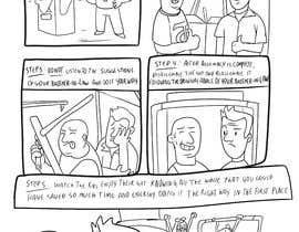 #2 for Create a simple cartoon strip af Freemanshorizon