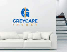 """#15 untuk name """"Greycape Invest"""". Thinking like a G with an C and two swords that is like the I. It can also be something like a medieval cape in logo. oleh bluebd99"""