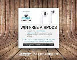 Nro 3 kilpailuun Promotional banner for giveaway käyttäjältä awaisahmedkarni