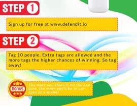 Nro 19 kilpailuun Promotional banner for giveaway käyttäjältä KAMALESH0123