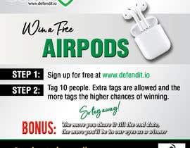 Nro 11 kilpailuun Promotional banner for giveaway käyttäjältä reggydesign