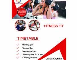 Nro 62 kilpailuun fitness flyer käyttäjältä ixsaiful