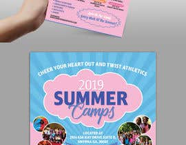#46 for Summer Camp Flyer by dissha