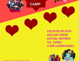 #47 for Summer Camp Flyer by halimamousumy