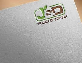 nº 7 pour Company Logo for J&D Transfer Station par jonymostafa19883