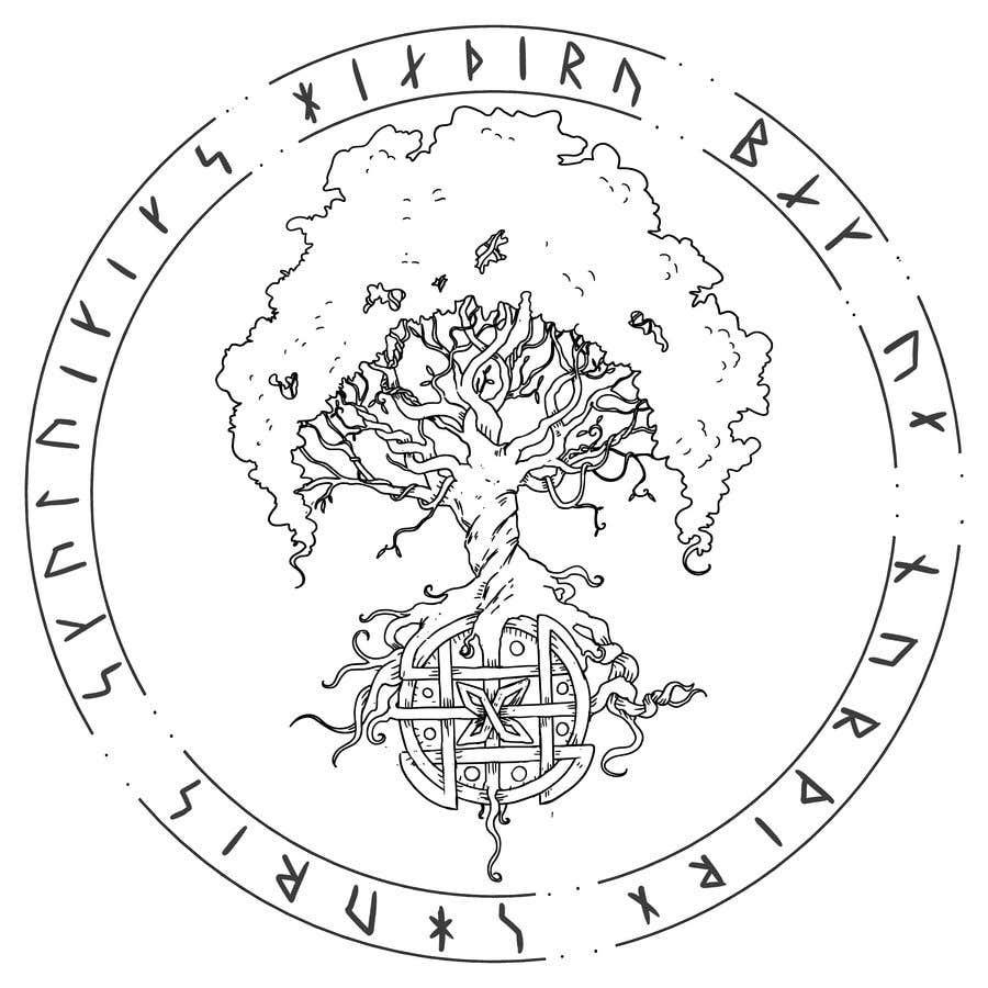 Конкурсная заявка №7 для Viking/Norse Artwork