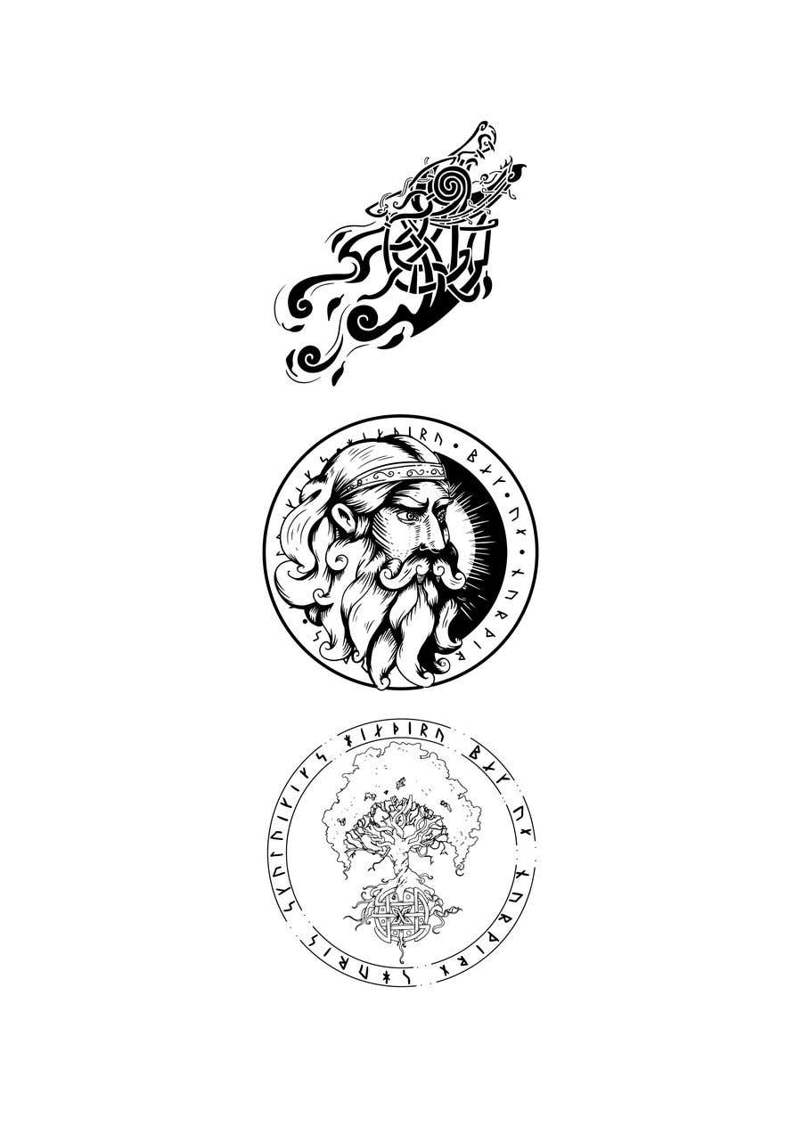 Конкурсная заявка №50 для Viking/Norse Artwork