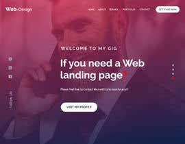 #5 for Build a Compelling Landing Page for my Site by tanbirpabel