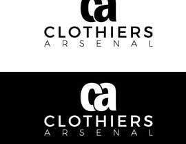 #8 for Clothiers Arsenal logo design af bluebd99