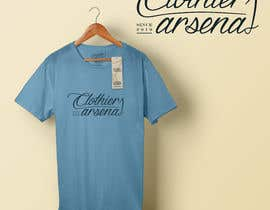 #4 for Clothiers Arsenal logo design af prateekbandhu