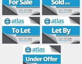 #30 untuk Design a board for estate agent in UK oleh adcorepro