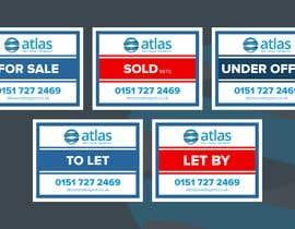 #40 untuk Design a board for estate agent in UK oleh happycharle