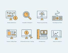 #20 untuk Design 8 Modern and Simple Icons for Our New Website oleh babarhossen