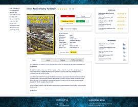nº 13 pour Single web page redesign par maxverentsov
