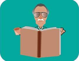 nº 8 pour Illustration of Stan Lee in Adobe Illustrator par saincitaroy1988