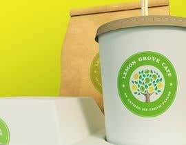 nº 233 pour Cafe logo and tag line par redeesstudio