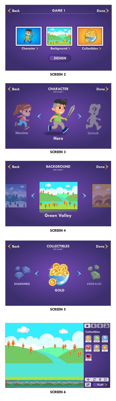 Penyertaan Peraduan #78 untuk Graphic Design of Mobile Game Logo & Screens