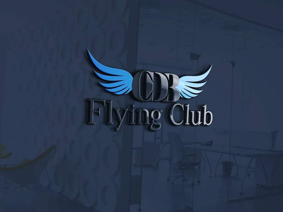 Kilpailutyö #14 kilpailussa Logo for a Flying Club