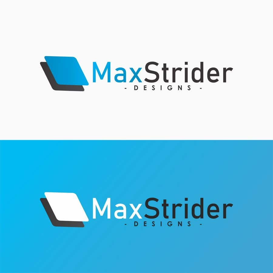 Inscrição nº 3 do Concurso para I require a logo designed for a company called Max Strider Designs. We produce high end hand crafted products. Vector png and JPEG formats. Thank you.