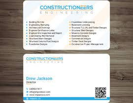 #90 for Business Card Design for a Residential Engineering Company af looterapro01