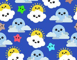 #5 untuk Create A Seamless Pattern of Image Examples In Cute Galactic Background oleh Bhavesh57