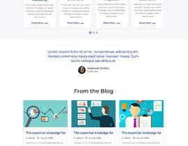 #14 для design a home page for a website от RajinderMithri