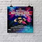 Graphic Design Конкурсная работа №16 для DJ Australia Tour Poster