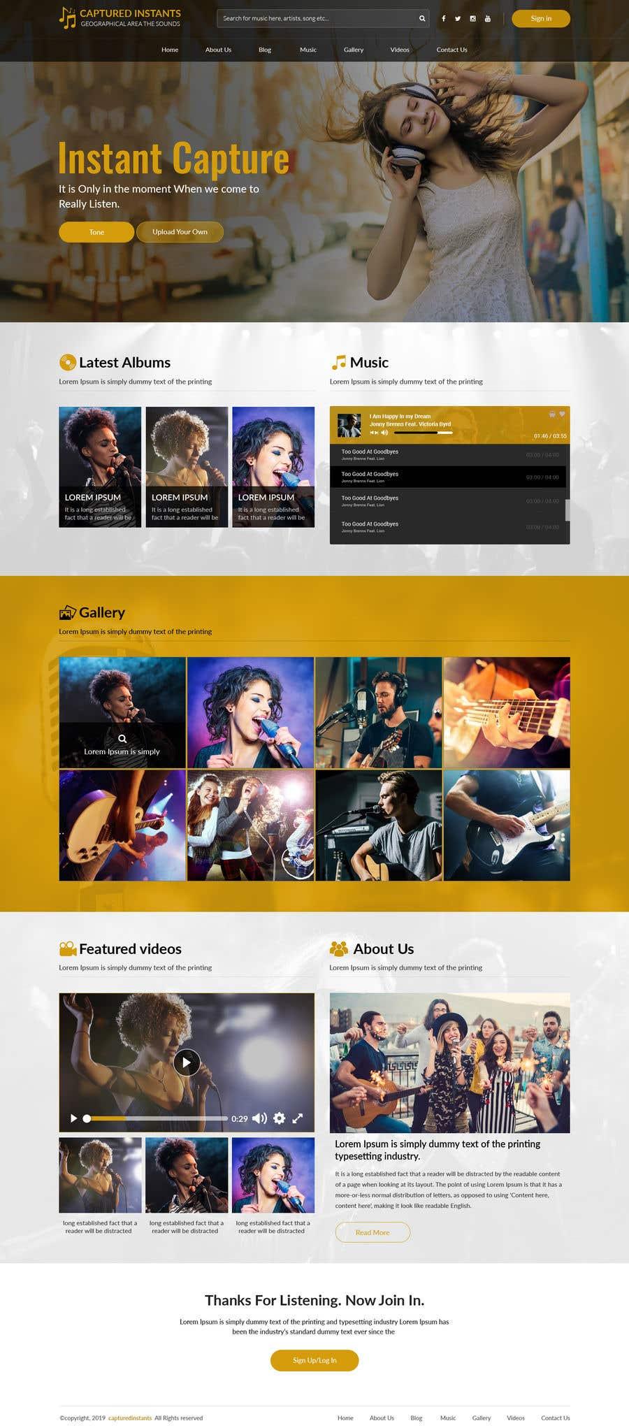 Proposition n°                                        6                                      du concours                                         Design & setup site web