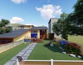 nº 17 pour 3D Frontyard Modern Design par strijemravojeda
