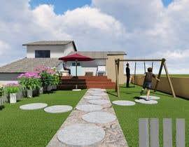 nº 18 pour 3D Frontyard Modern Design par jalamrathore