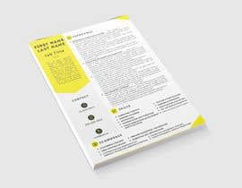 #31 cho Resume Design bởi Pixislam