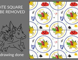 #1 for Create A Seamless Pattern of Baby Devils Riding On Evil Unicorns With Background Items Also by saurov2012urov