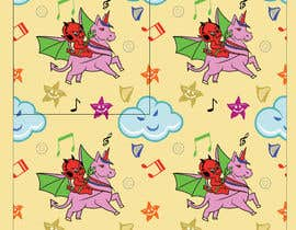 #5 for Create A Seamless Pattern of Baby Devils Riding On Evil Unicorns With Background Items Also by saurov2012urov